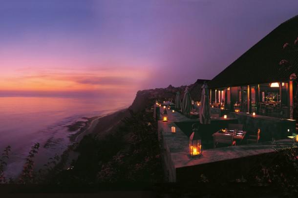 Bali Restaurant at Night