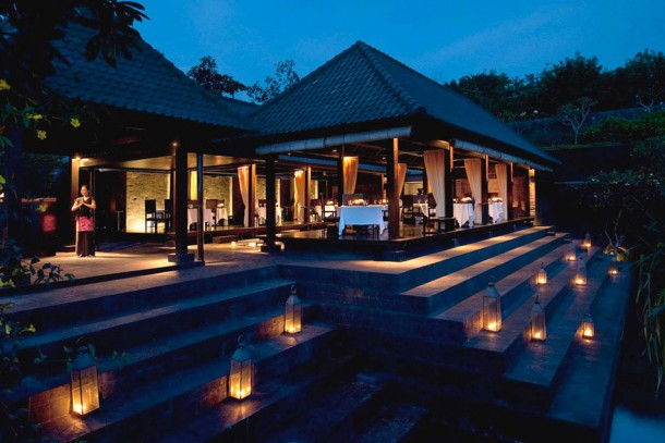 Bulgari Resort Restaurant Outdoor