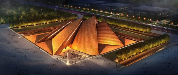 Datong Art Museum by foster+ partners
