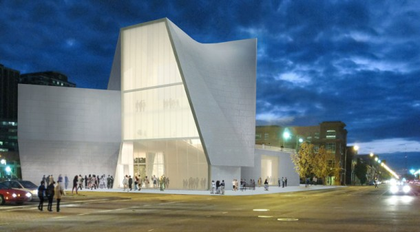 Institute for contemporary art' by Steven Holl