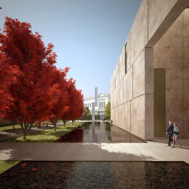 The Barnes Foundation Rendering