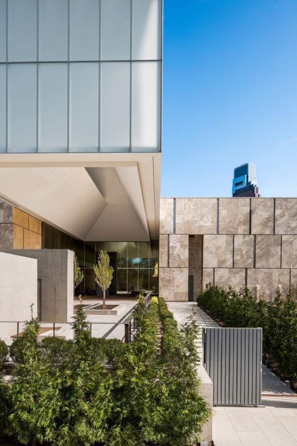 The Barnes Foundation by Tod Williams and Billie Tsien Architects