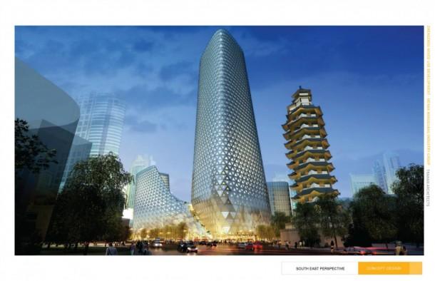 Zhengzhou Mixed Use Development by Trahan Architects