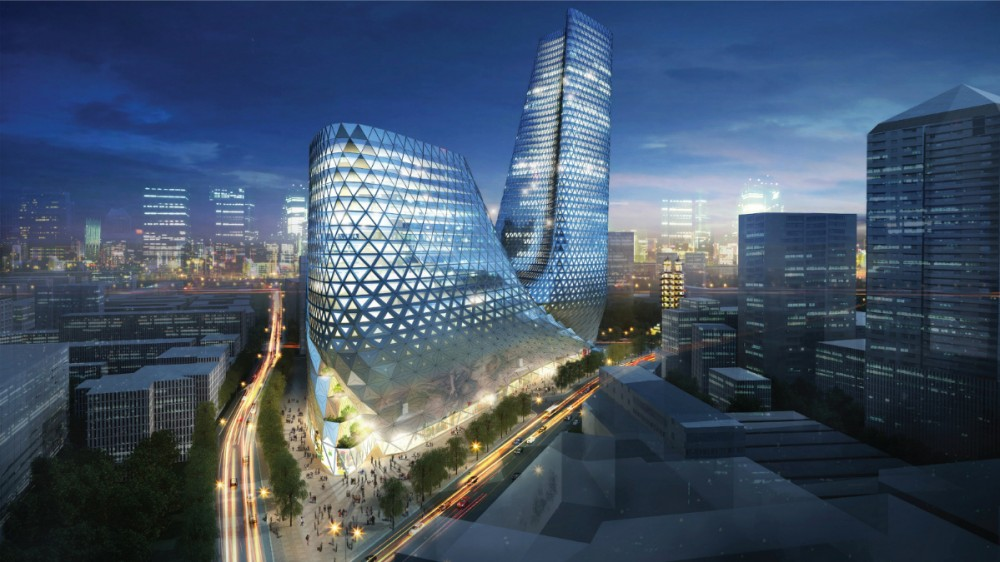 Zhengzhou Mixed Use Development by Trahan Architects