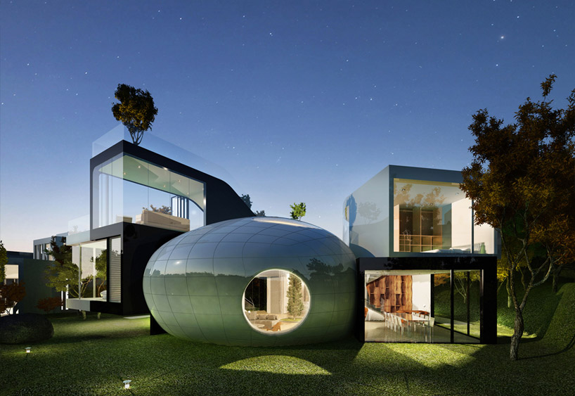 jeju cocoon house' by planning korea