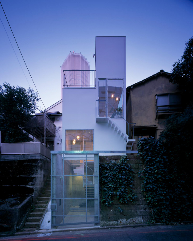 43base Minimal House in Tokyo by Miurashin Architect + Associates