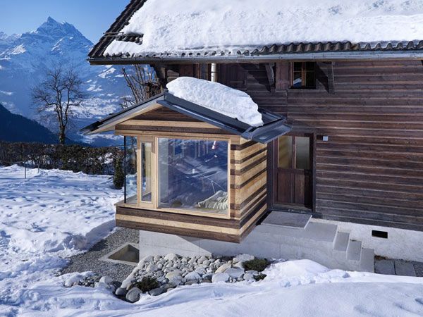 Beautiful view of the chalet