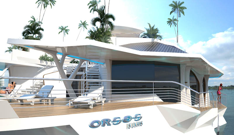 Luxury Osros Floating Island
