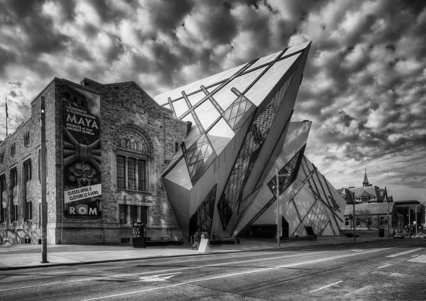 Royal Ontario Museum Canada by Roland Shainidze