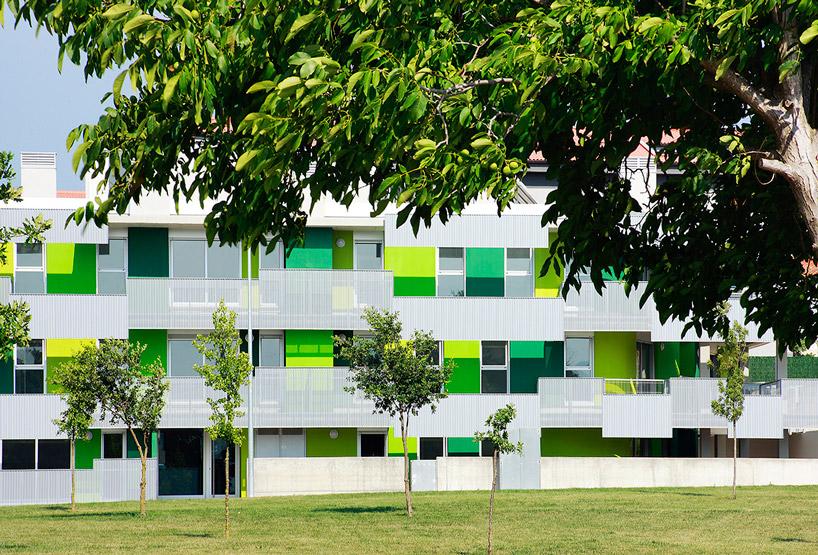 Santa Eugenia de Berga Social Housing by Bailo Rull ADD+