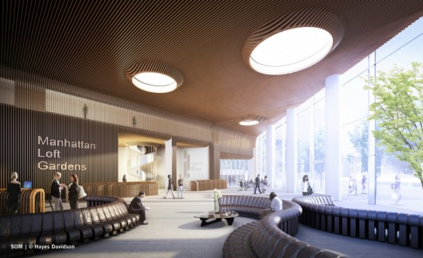 Shared Communal Lobby and Reception
