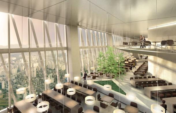 Sky Lobby Cafeteria