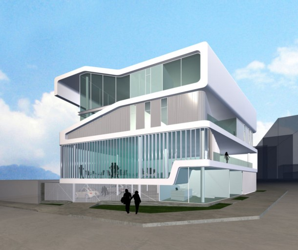 Smooth Building 3D Model