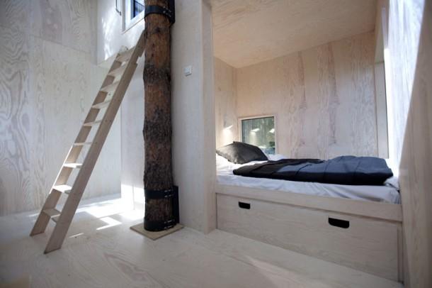 Tree Hotel Interior