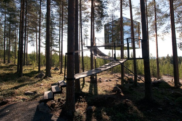 Tree Hotel by Tham & Videgard Arkitekter