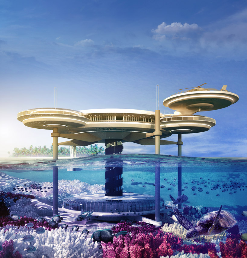 Dubai's Spectacular Underwater Hotel by Deep Ocean Technology