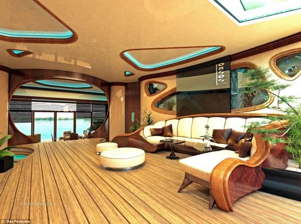 floating island  interior