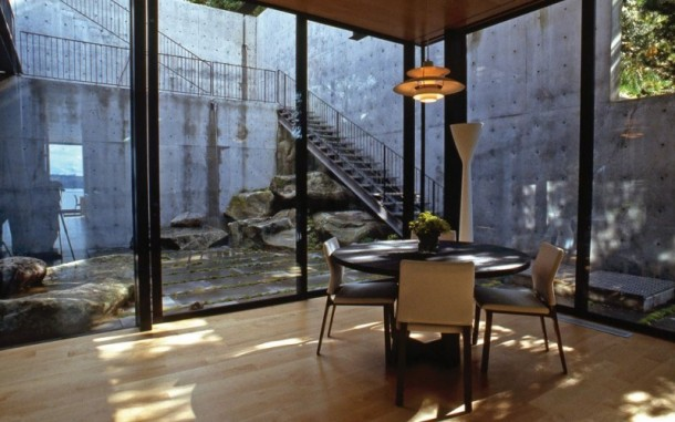 Dinning Room of Courtyard House