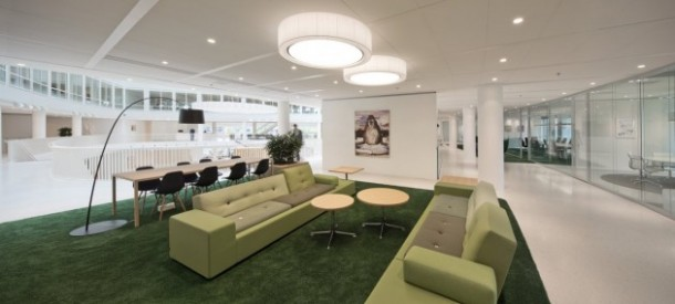 Eneco rotterdam office interior