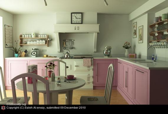Feminine Kitchen