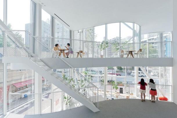 Internal View of Wolf Center