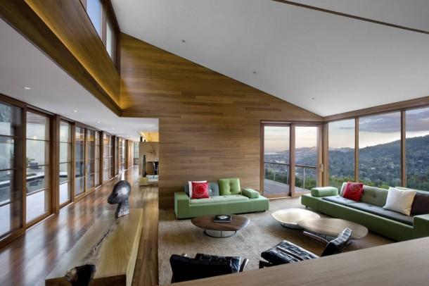 Kentfield Hillside Residence  Guest Room