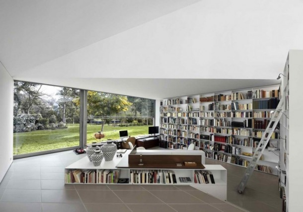 Library of f AA House by OAB