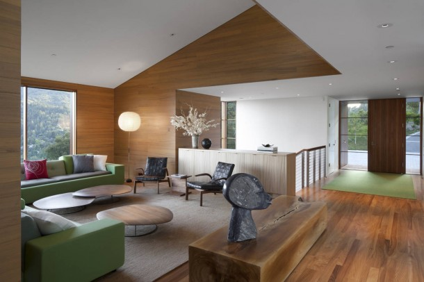 Living Room Kentfield Hillside Residence