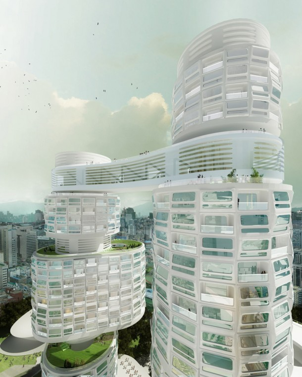 Velo Towers By Asymptote Architecture View