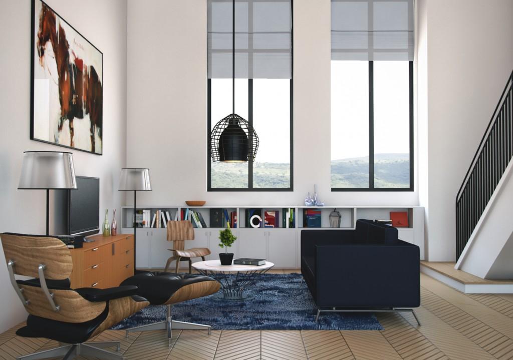 Download Realistic Interior & Exterior Scenes and 3d Models