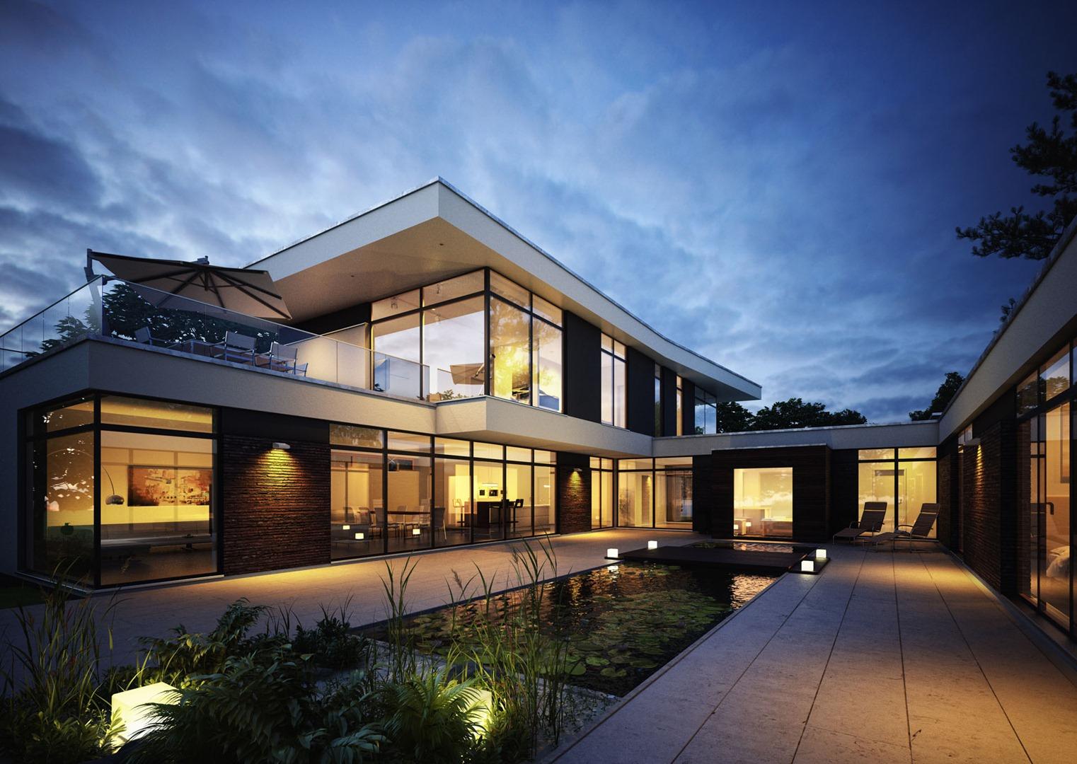 3D Renderings of Tomczak House