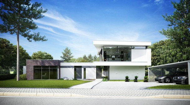 3ds Max House Rendering Renders in With 3ds Max
