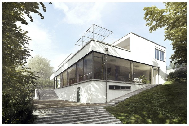 Villa Tugendhat 3D Recreation by Lasse Rode