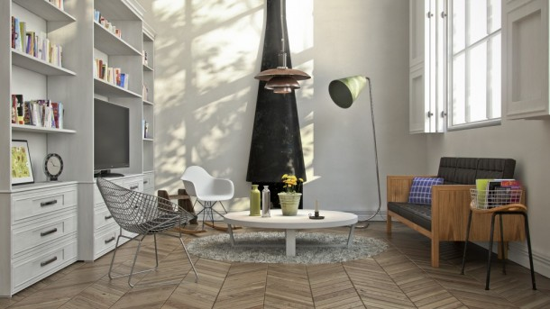 Download Hdri And Vray Sun For Lighting Interior Scene 3d Architecture Renderings