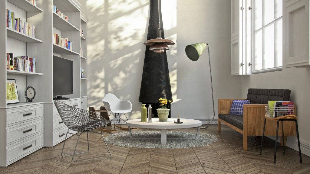 Download HDRI and Vray Sun for Lighting Interior Scene