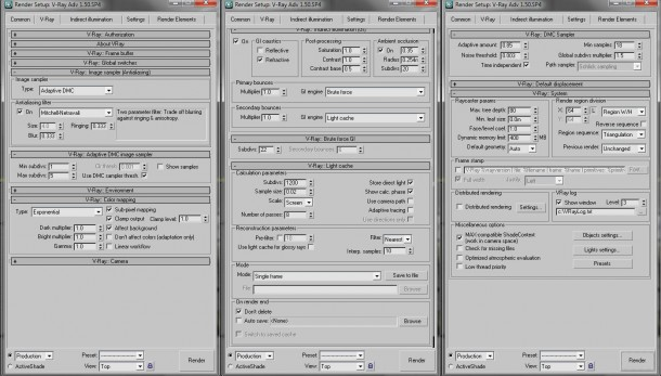 3ds Max Vray Render Settings Vray-interior-render-settings